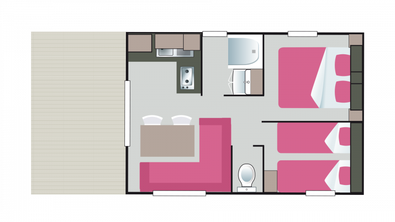 Mobil home for Salon du mobil home